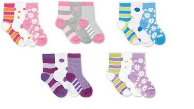 3 Pairs Girls Socks by Country Kids - Sock Size 5-6