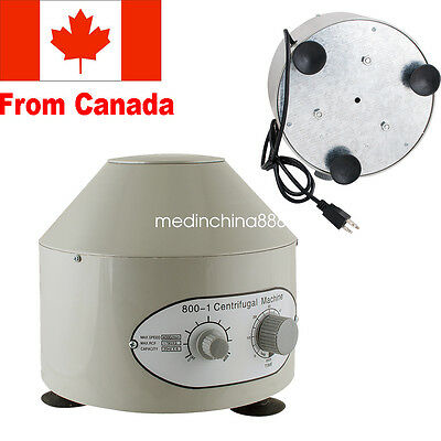 Electric Centrifuge Machine 4000rpm Lab Medical Practice Device Supply CA Local