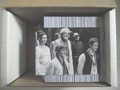 2018 Topps Star Wars A New Hope Black and White 140 Cards Complete Set