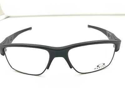 Authentic New Oakley Crosslink Switch OX3128 0153 Satin Black Eye Glass Frame