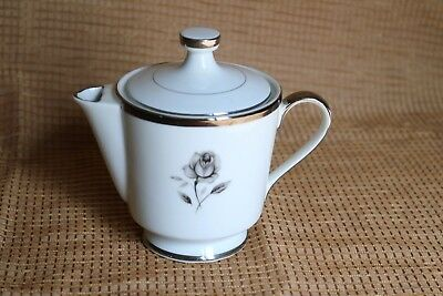 "Empress China - ROSEMONT - 121 - Made in Japan - 8 oz3 1/2"" Covered Creamer"