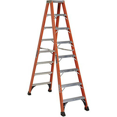 LOUISVILLE Specialty Double-Step Ladder - 7 Steps, Lot of 1