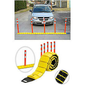 Tapco® 3192-00003   Traffic Guard Portable Speed Bump with Delineators and