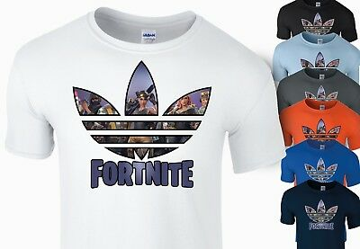 Fortnite Inspired T Shirt Kids Boys Gamer Xbox Playstation T-Shirt Soft Cotton
