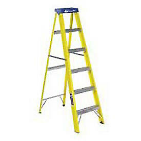 6' Fiberglass Step Ladder, Lot of 1