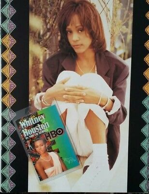 1994 Whitney Houston Programme & Backstage Pass For 'one South Africa' Concerts