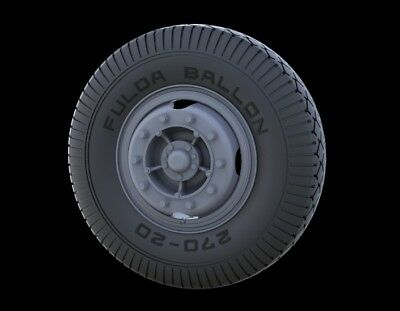 PANZER ART,RE35-246 Road Wheels for Bussing-Nag 4500 (Early Pattern), 1:35