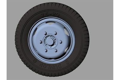 PANZER ART, RE35-375 ROAD WHEELS For GERMAN OPEL BLITZ EARLY (Commercial) 1:35