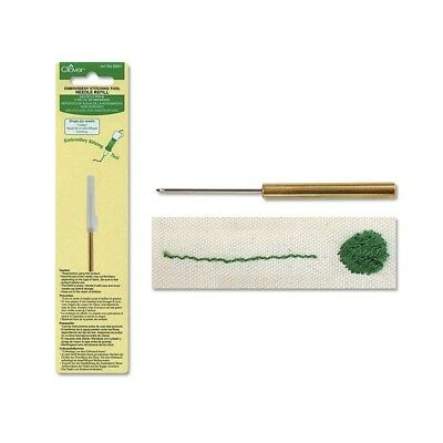 Clover Embroidery Needle Refill 1-Ply #8801