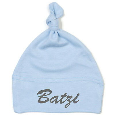 Schnoschi Baby Cap with Batzi High-Quality Embroidered/Embroidered