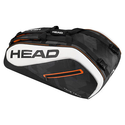 Head Tour Team Supercombi 9 Racket Bag 2017 - Black/White