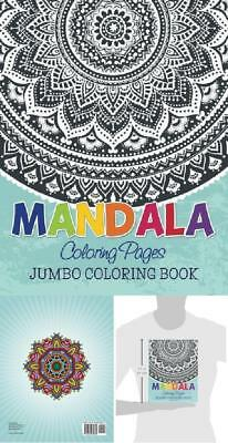 Mandala Coloring Pages Jumbo Book