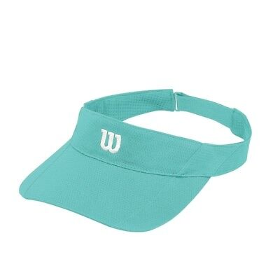 Wilson Rush Knit Ultralight Visor BlueBird