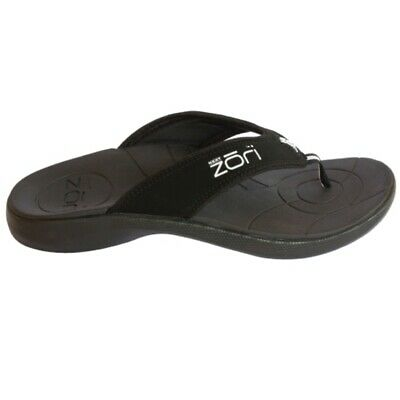 Neat Zori Orthotic Thongs Black