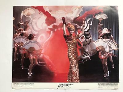 Kate Capshaw dancing  Indiana Jones and the Temple of Doom 1984 lobby card 092