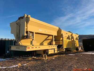 Mobile Concrete Batch Plant Peak Innovations Series II