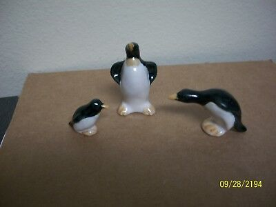 Rosemeade Mini Penguin Family 3 Figurines