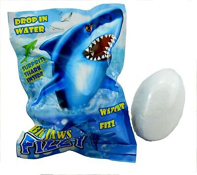 SHARK BATH BOMB fizzy surprise gift boys girls water toys party bubbles kids