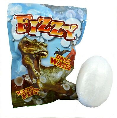 DINOSAUR BATH BOMB fizzy Christmas gift water toys party bubbles kids stocking