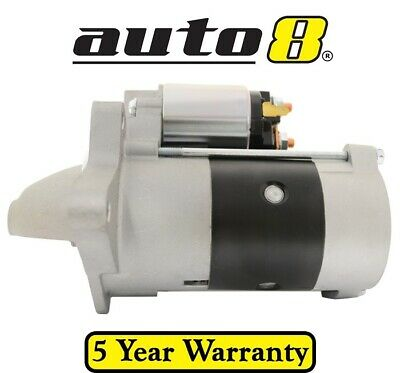 Brand New Starter Motor fits Ford Courier PD 2.5L Diesel WL 05/96 - 01/99