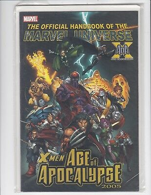 Official Handbook of the Marvel Universe X-Men Age of Apocalypse 2005 - VF/NM