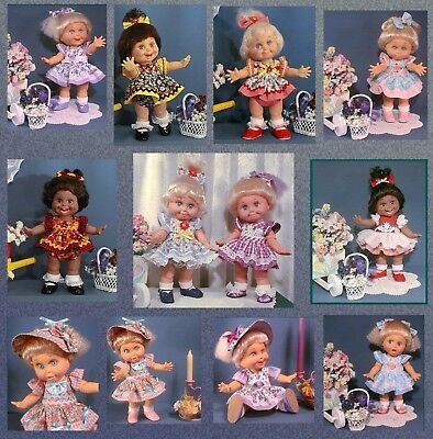 *SUMMER*FUN* ~ Sewing Pattern for BABY FACE Galoob DOLLS ~ Prilly Exclusive!