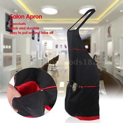 4 pockets Professional Salon Apron for Barber HAIRDRESSING Durable Thick I9X1