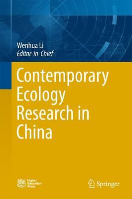 Contemporary Ecology Research in China Li, Wenhua