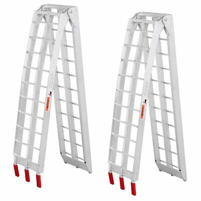 2x Loading Ramps Aluminum Folding ATV Buggy Scooter Quad Motorcycle 2.3M 680kgs