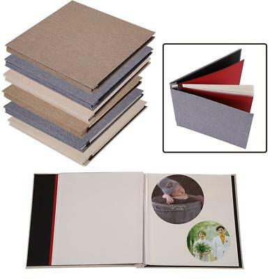 20 Pages Vintage DIY Self-Adhesive Scrapbook Photo Album Handmade Craft Gifts SG