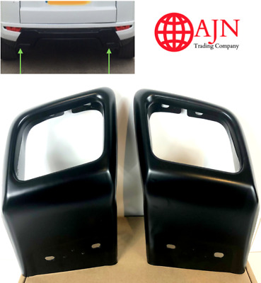 BLACK Exhaust Tips Tailpipe Fits: Range Rover Evoque Dynamic BLACK Edition 2011+