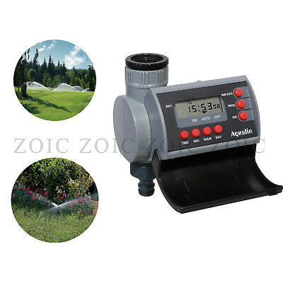 Battery-Operated Garden Programmable Water Tap Timer Sprinkler System Controller