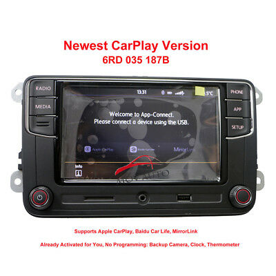 "6.5""Radio CD Player RCD330 187B Carpaly For Golf 5 6 Jetta Tiguan Passat"