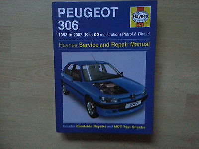 haynes workshop manual peugeot 306 1993 to 2002 petrol and diesel rh picclick co uk haynes manual peugeot 306 haynes manual peugeot 306