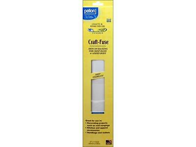 "Pellon Stabilizer Craft Fuse 15""x4yd Pkg White"