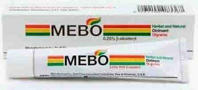 Mebo Burn Fast Pain Relief Healing Cream Leaves No Marks One Tube 15 - 30 GM