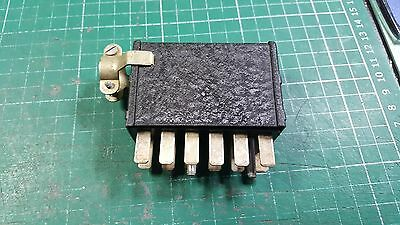 Vintage 12 Pin Male Connector 12 Pin Socket Connector