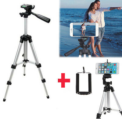 Professional Camera Tripod Mount Stand Holder for iPhone Samsung US KY 2018