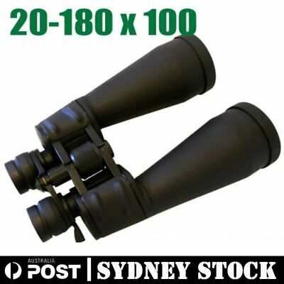 20-180X100 Binoculars Portable Outdoor Telescope Day & Night Vision Mega Zoom Au