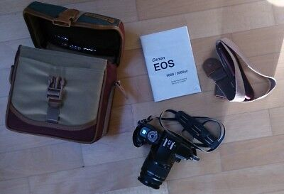 Canon EOS 5000 mit Canon EF 4,5-5,6/38-76mm inkl. Tasche