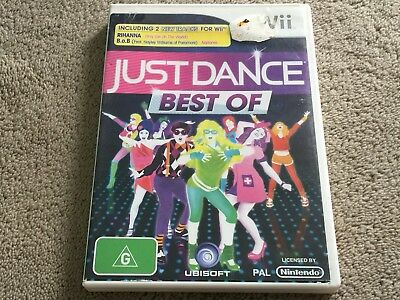 Just Dance: Best Of PAL Nintendo Wii Game **COMPLETE** - **FREE AUST. POST**