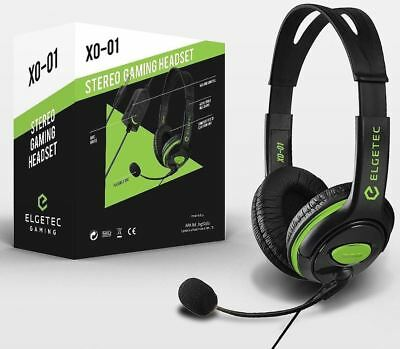 X0-01 Stereo Gaming Headset for xBox One / S / X / PS4 Headphones with Chat Mic