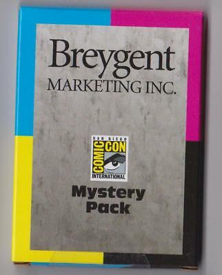 Breygent Marketing San Diego Comic Con (Sdcc) 2012 Factory Sealed Mystery Pack