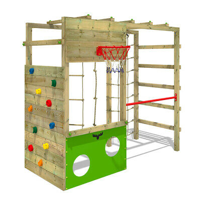 FATMOOSE CleverClimber Club XXL Climbing Frame Outdoor Wood Garden Gymnastics