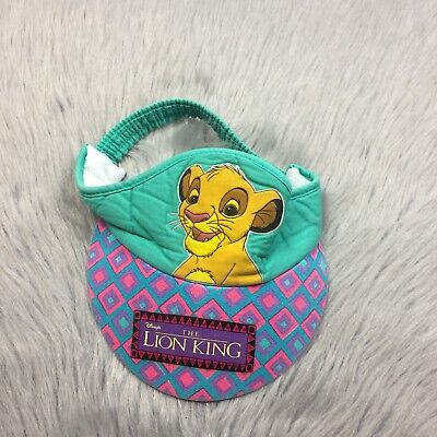 Vtg 90s Toddler Childrens Disney The Lion King Hat Visor 3-6 Years
