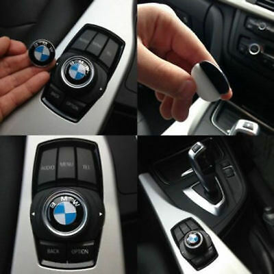 29MM BMW Multimedia Sound Button iDrive Controller Badge Logo Emblem Sticker