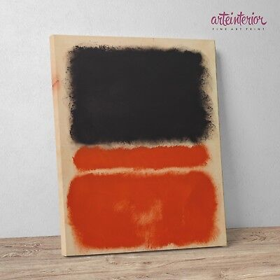 Mark Rothko 'Red' Stampa Fine Art su tela Canvas Quadro Impressionismo Astratto