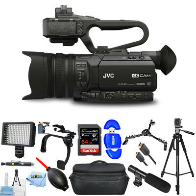 JVC GY-HM170UA 4KCAM Compact Professional Camcorder PROFESSIONAL KIT BRAND NEW