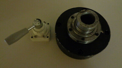 Dunham 5C Air Collet Closer With Air Regulator, Stationary Or Rotary