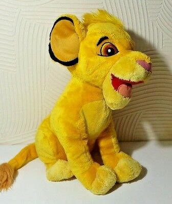 Lion King Soft Cuddly Plush Toy Medium Simba Disneyland Resort Paris